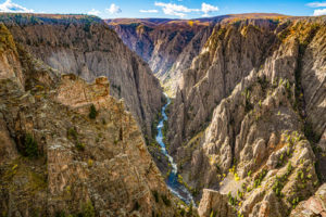 Black Canyon of the Gunnison National Park, Colorado, Photo Credit: pabrady63, Adobe Stock