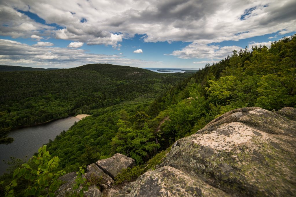Beech Mountain Cliffs, Acadia National Park, Maine | Photo Credit:  Will Greene, NPS