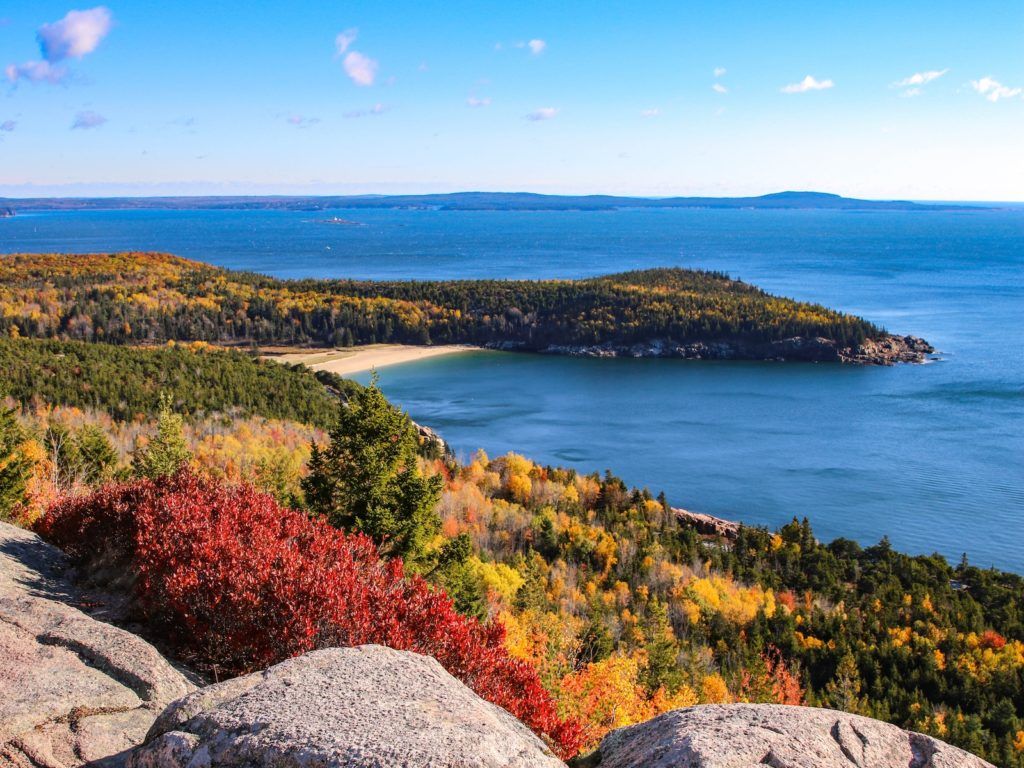 Gorham Mountain Trail, Acadia National Park, Maine | Photo Credit: Victoria Stauffenberg, NPS