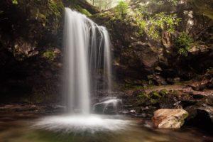 Grotto Falls, Great Smoky Mountains National Park, North Carolina/Tennessee | Photo Credit: Vezzani Photography