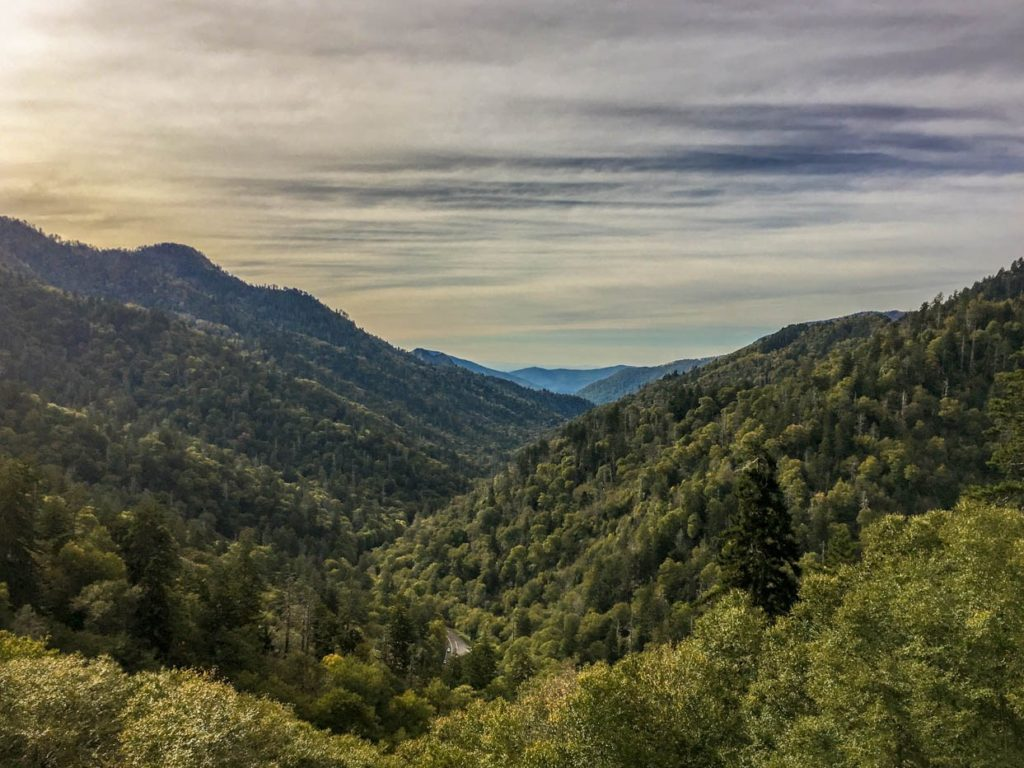 Morton's Overlook, Newfound Gap Road, Great Smoky Mountains National Park, North Carolina/Tennessee | Photo Credit: Vezzani Photography