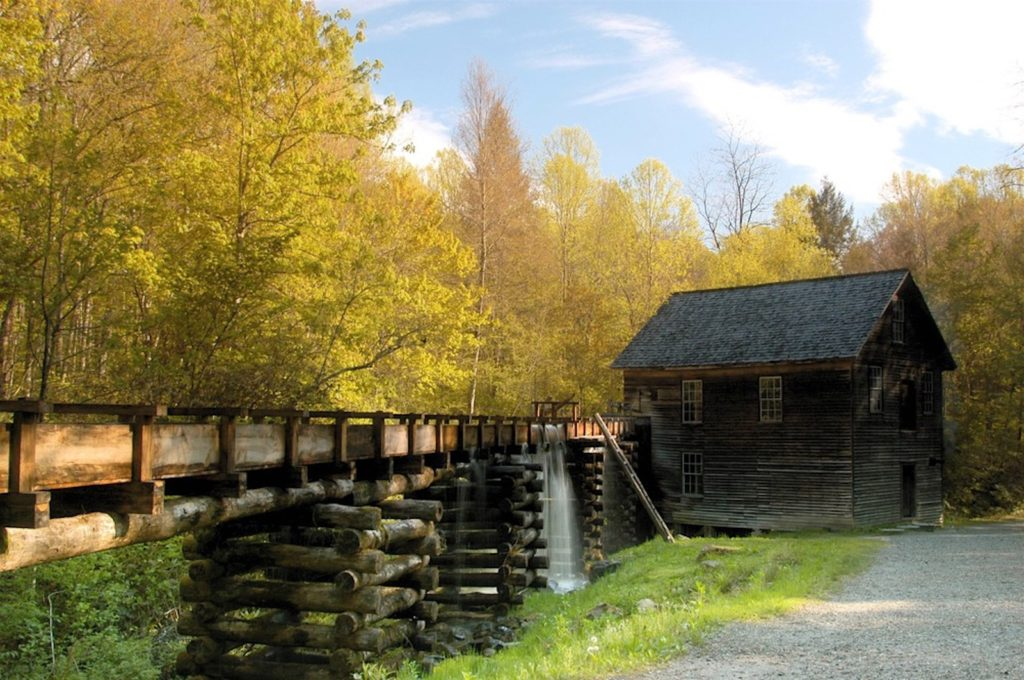 Mingus Mill, Great Smoky Mountains National Park, North Carolina | Photo Credit:  Robert Crootof, NPS