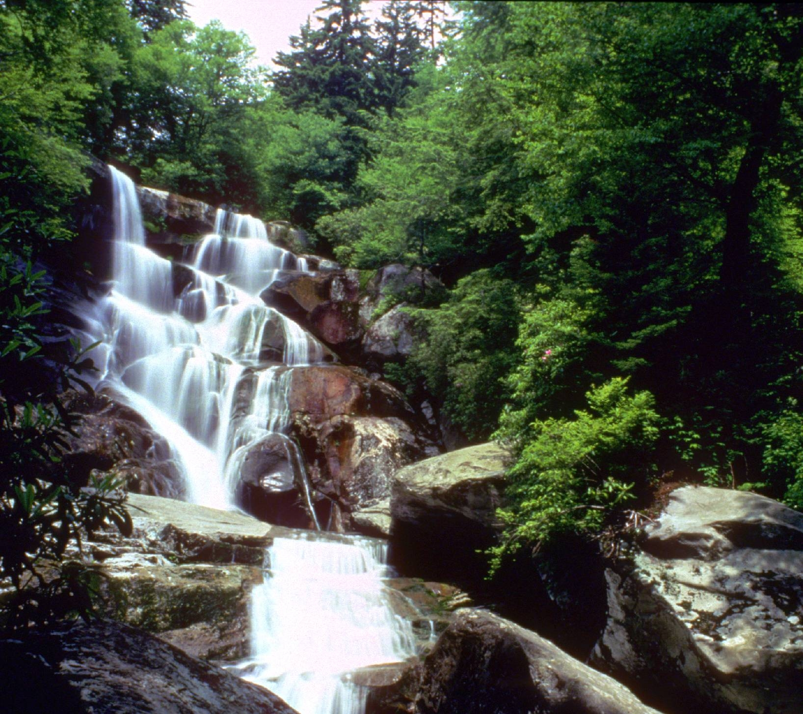 Ramsey Cascades, Great Smoky Mountains National Park, Tennessee/North Carolina | Photo Credit: NPS