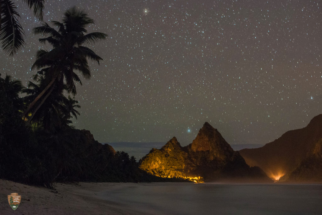 Stargazing, Ofu Island, National Park of American Samoa | Photo Credit: NPS