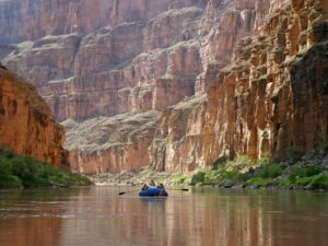 Colorado River Boating, Grand Canyon National Park, Arizona | Photo Credit: Mark Lellouch, NPS
