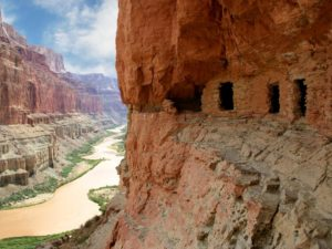 Colorado River Nankoweap Granaries, Grand Canyon National Park, Arizona | Photo Credit: Mark Lellouch, NPS