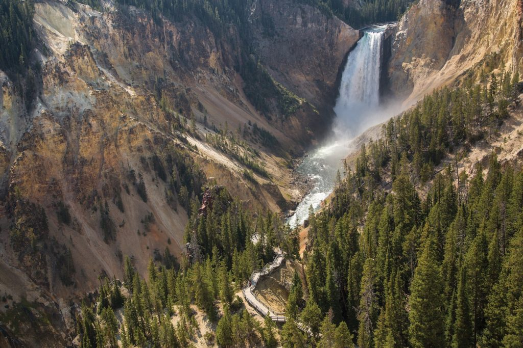 Grand Canyon of Yellowstone, Yellowstone National Park, Wyoming | Photo Credit:  Neal Herbert, NPS