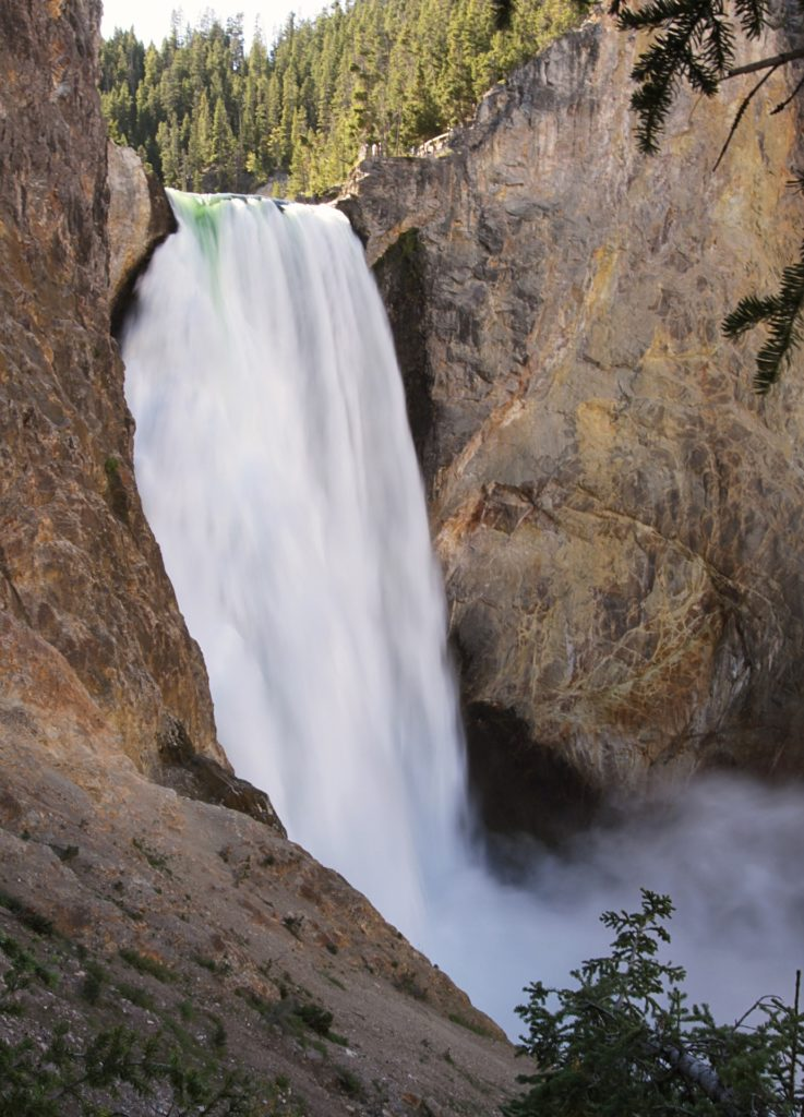 Lower Yellowstone Falls, Uncle Tom's Trail, Yellowstone National Park, Wyoming