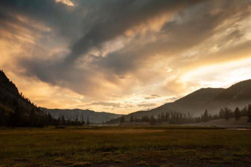Madison Campground, Yellowstone National Park, Wyoming | Photo Credit: Vezzani Photography